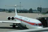 Soviet-built Air Koryo Ilyushin-62M at Beijing Capital Airport