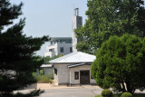 Panmunjom Joint Security Area in the center of the DMZ