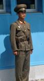 North Korean soldier, Panmunjom