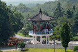 Tourist observation tower on the South Korean side