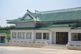 Modern building at the entrance to the Koryo Museum, Kaesong