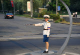 Pyongyang Traffic Ladies direct with military precision