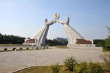 Monument to the 3-Charter of National Reunification, 2001