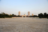 Vast square of the Monument to Victorious Fatherland Liberation War