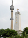 DPRK-PRC Friendship Tower & Liberation Tower