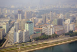 West bank of the Taedong River, Pyongyang