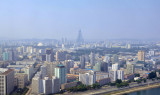 West bank of the Taedong River, central Pyongyang