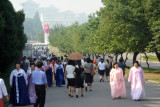Liberation Day (Aug 15) in Pyongyang