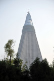 The Ryugyong Hotel should be finished by 15 April 2012, Kim Il Sung's 100th Birthday
