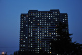 Lights on in Pyongyang