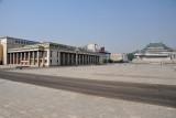 Korean National Art Gallery, Kim Il Sung Square