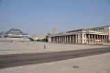 Korean Central History Museum, Kim Il Sung Square