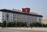 Victory for our great Chosun party, DPRK Ministry of Foreign Trade, Kim Il Sung Square