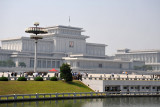 Kumsusan Memorial Palace, the mausoleum of Kim Il Sung, Pyongyang