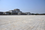 The square in front of Kumsusan Memorial Palace is 500m across