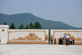 Gate to Kumsusan Memorial Palace
