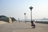 Promenade along the Taedong River, Pyongyang