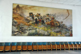 A heroic mural,  Victorious Fatherland Liberation War Museum