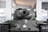Catpured American M-26 Pershing tank, American M-4A3 Sherman Tank, Victorious Fatherland Liberation War Museum