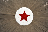 Red star over the Cyclorama of the Battle of Taegu