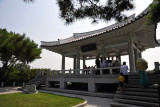 Viewing pavilion on Mangyong Hill, Pyongyang