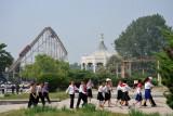 Young Pioneers, Mangyongdae Fun Fair, Pyongyang