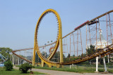 I was a bit surprised to see a looping roller coaster in Pyongyang