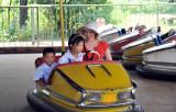 Oxana at bumpercars