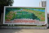 Map of the Mangyongdae Fun Fair, Pyongyang