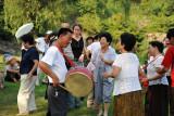 Liberation Day holiday, Moranbong Park, Pyongyang