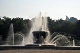 Fountain at the base of Moran Hill, Pyongyang