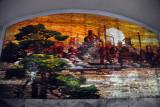 Mosaic artwork in the Puhung Station, Pyongyang Metro