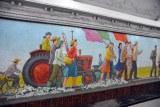 Mosaic, Puhung Station, Pyongyang Metro