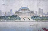 Yongwang Station mosaic - Kim Il Sung Square