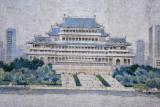 Yongwang Station mosaic - Grand People's Study House