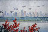 Yongwang Station mosaic - Pyongyang