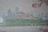 Yongwang Station mosaic - Pyongyang Grand Theatre