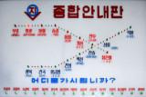 Electronic map of the Pyongyang Metro
