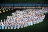 Arirang Mass Games - map of Korea