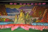 Arirang Mass Games scene 15 - Arirang for 3000 km