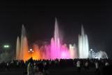 Illuminated fountain, Rungrado May Day Stadium, Pyongyang