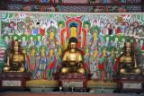 Buddhas, Ryongsan Hall, Pohyon Temple