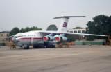 Air Koryo IL-76 (P-912) at Pyongyang