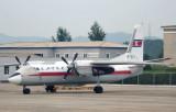 Air Koryo Antonov An-24 (P-537) at Pyongyang