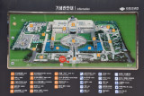 Map of the War Memorial of Korea