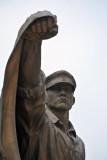 Flag bearer - Defending the Fatherland
