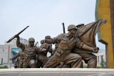 Statues Defending the Fatherland - the Korean War Monument