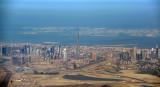 Burj Dubai and The World, Feb 2009