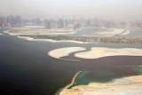Palm Deira, Al Mamzar Park, Sharjah in the distance