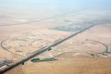 Emirates Road, City of Arabia construction, Dubailand